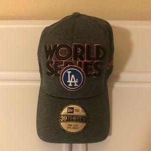 LA Dodgers World Series Cap